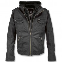 Veste en imitation cuir BLACK ROCK