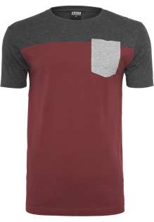 T-shirt manches courtes 3-Tone Pocket