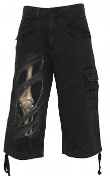 Pantalon 3/4 homme BONE RIPS