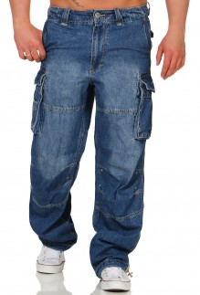 Pantalon cargo jeans SAFETY A DENIM LONG