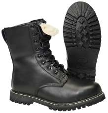 Combat Boots Springerstiefel with lining