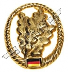 BW beret badge