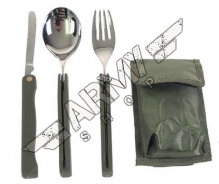 Cutlery set Camping - foldable