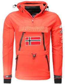 Softshell Veste Geographical Norway Tuilding