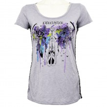 Girls t-shirt Indian Skull