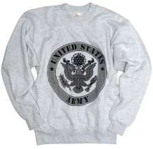 SWEAT-SHIRT AVEC CAPUCHON US ′ARMY′