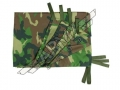 Tent Side - Woodland camouflage