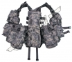 gilet Tactical, beaucoup de poches - At-Digital camouflage