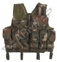 gilet tactical, taille-réglable - Woodland camouflage